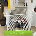 Вольер для собак пластиковый (белый)