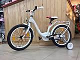 Детский велосипед Scool niXe 18 1-S Белый (2018)