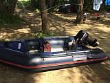 Надувная лодка+ мотор+эхолот